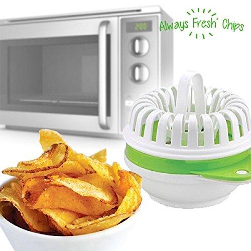 Compra Recipiente para Hacer Patatas Fritas al Microondas en ...