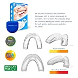 The ConfiDental - Pack of 5 Moldable Mouth Guard