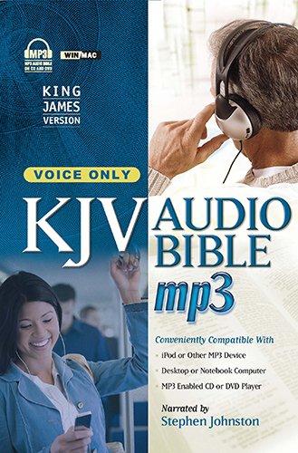 MP3 Bible-KJV-Voice Only Audio CD – MP3 Audio, September 1, 2011