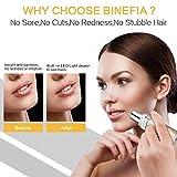 Binefia Facial Hair Remover for Women,USB