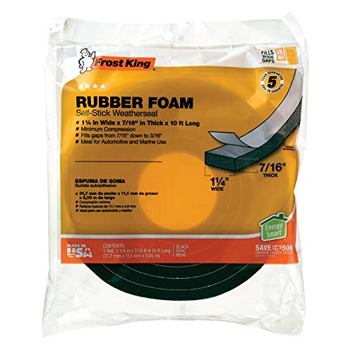 Frost King R516H 1-1/4-Inch by 7/16-Inch by 10-Foot