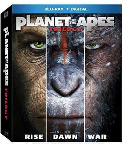 Blu-ray : Planet of the Apes Trilogy (Digitally Mastered in HD, 3 Pack, , Dubbed, Dolby)