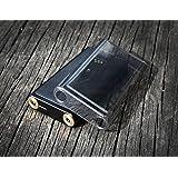 Sony Walkman NW-WM1A Case, Sony Walkman NW-WM1Z Case, TPU Gel Case for Sony NW-WM1A NW-WM1Z (Clear-Black)