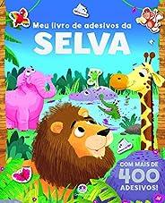 Meu livro de adesivos da selva