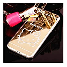 CRISHER Mirror Hello Kitty Ultra Slim TPU Phone Case For iPhone 6 Plus/6S Plus (5.5 inches)