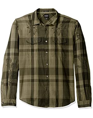 Men's Jake Voile Plaid Shirt