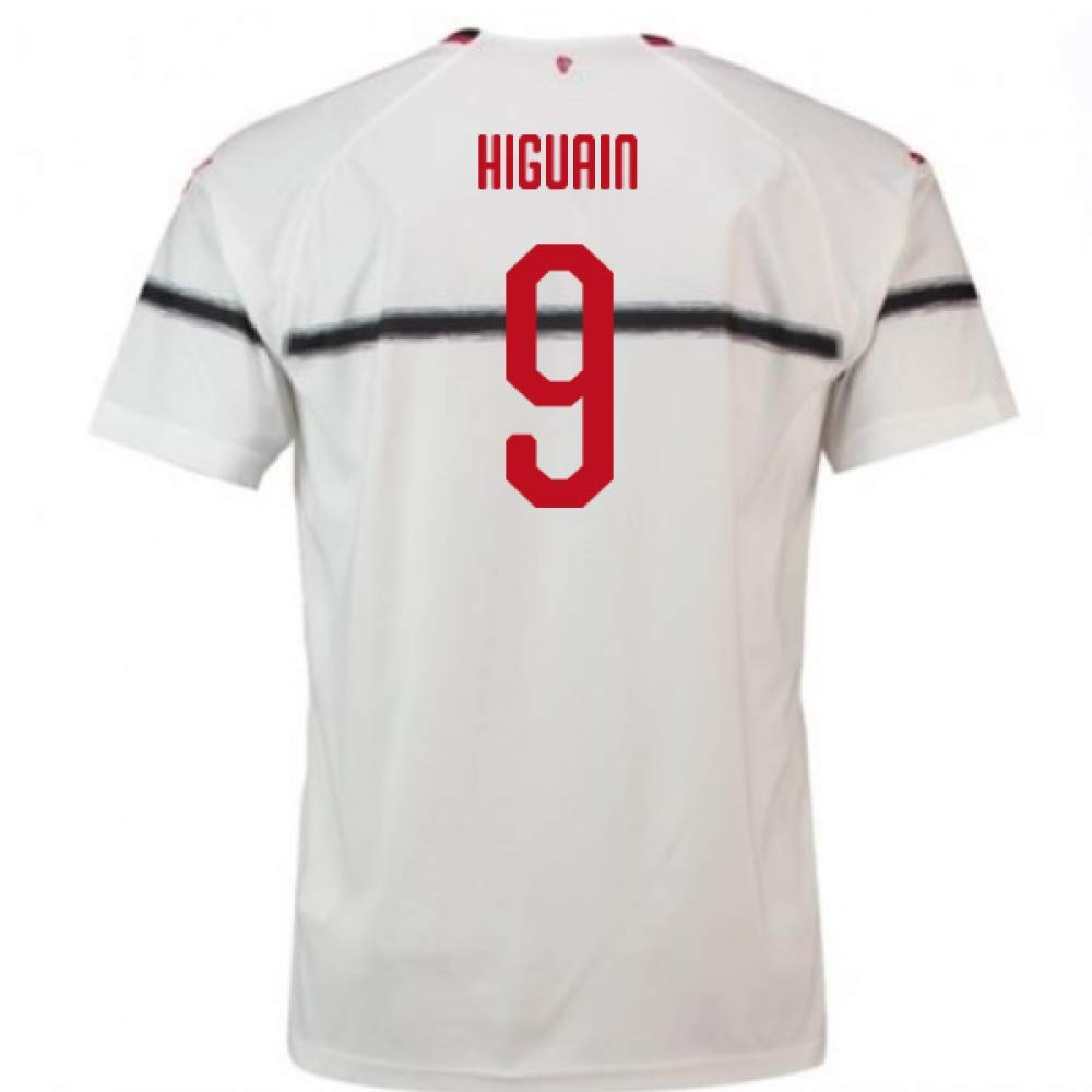 2018-2019 AC Milan Puma Away Football Soccer T-Shirt Trikot (Gonzalo Higuain 9) - Kids