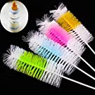Saver 4Pcs Baby Bottle Brush Spout Wine Cup Glass Washing Cleaning Kitchen Cleaner Tool