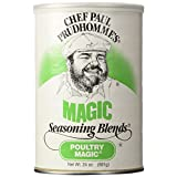 Chef Paul Prudhomme's Magic Seasoning Blends ~ Poultry Magic, 24-Ounce Canister by Magic Seasoning Blends