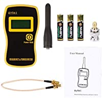SODIAL(R) GY561 Frequency Counter Handheld Tester & Power Meter for Two-Way Ham Radio