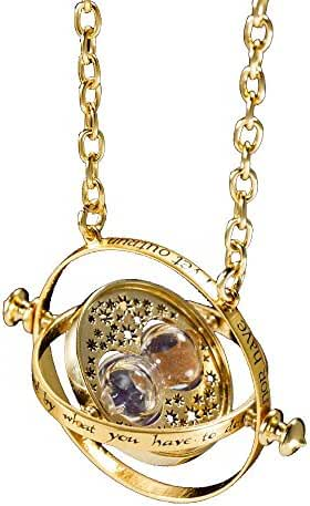 Niceasy Harry Potter Toys - Hermione Granger Time Turner Necklace - Best Gift For Halloween With Gift Box! by Niceasy