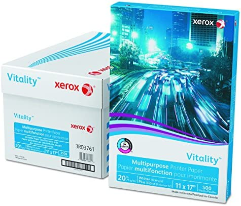Xerox Business 11 x 17 Inch 20 lb Multipurpose Paper 500 Sheets (3R3761)