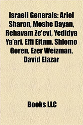 Israeli generals: Ariel Sharon, Moshe Dayan, Rehavam Zeevi ...