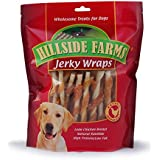 Hillside Farms Chicken And Rawhide Jerky Wraps Premium Dog Treats, 32-Ounce