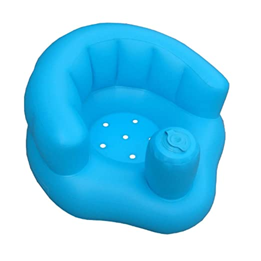 ulofpc - Bañera hinchable para bebé, taburete, asiento de ...