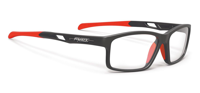RUDY PROJECT(ルディプロジェクト) ロードバイク スポーツメガネ スポーツ眼鏡 サイクリング 自転車 フィット感 耐衝撃性能 ノーズパッド2サイズ(大小) フィット感 メイドインイタリア 調整式テンプル インツゥーイッション B ブラック/オレンジ 0244SP440B062   B01NC0FJL7