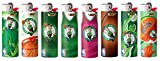 Bic Boston Celtics Lighters Set of 8 NBA Officially Licensed Bic Cigarette Lighters