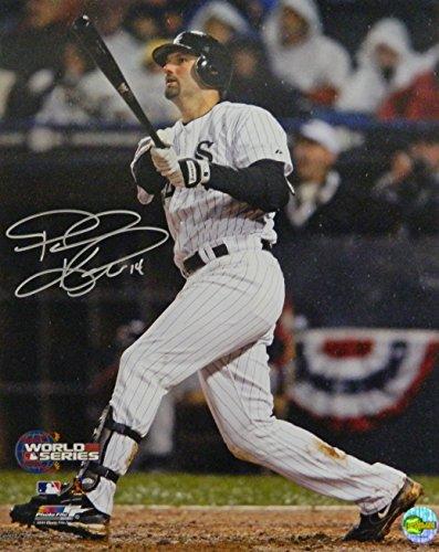 Paul Konerko Game - Paul Konerko Signed Chicago White Sox 2005 World Series Game 2 Grand Slam 16x20 Photo