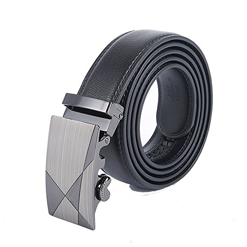 Wholesale Designer Belts (New Mens Automatic Alloy Buckle Leather Belt Designer Waist)