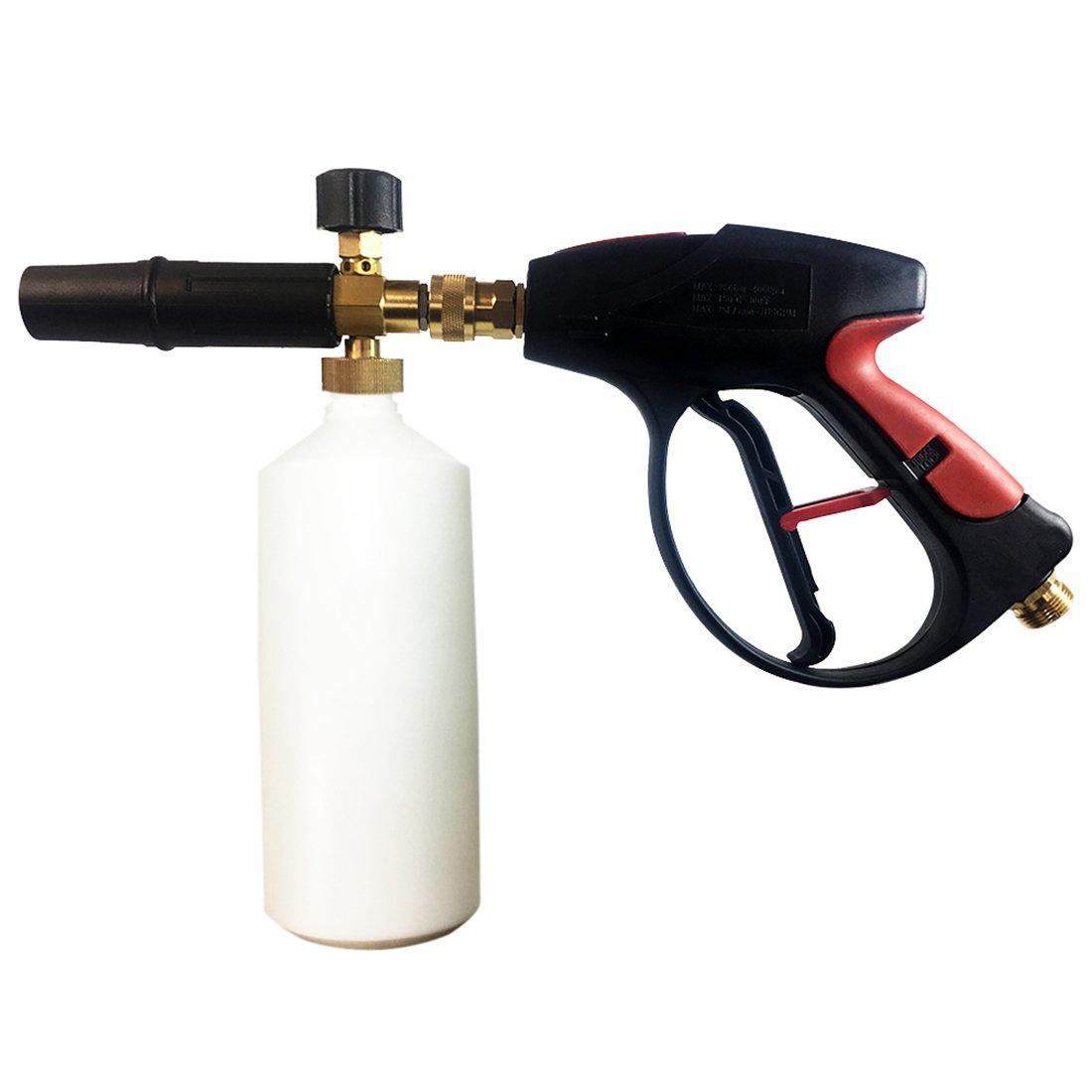 Foam Lance Snow Cannon Pressure Gun W Bottle Car Foamer