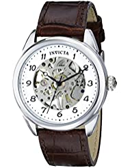 Invicta Mens 17187 Specialty Analog Display Mechanical Hand Wind Brown Watch