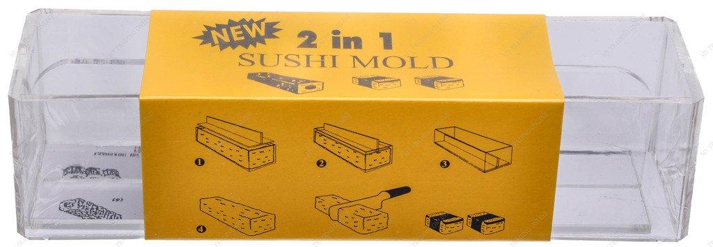 """Kitchen Helper TD-065 Spam Musubi Sushi Rice Press, 8.25""""(L) x 2""""(W) x 2.25""""(H)"""