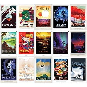 Amazon.com: Nasa JPL Espacio Impresiones de carteles de ...