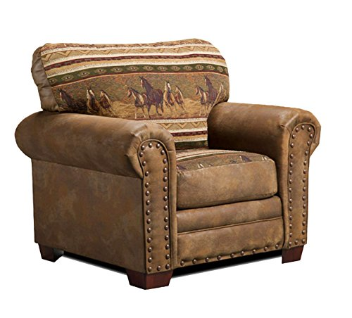 American Furniture Classics Wild Horses Chair