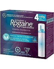 Rogaine Women's Minoxidil Foam 5 % (4 X 60 Gram), 240 Grams