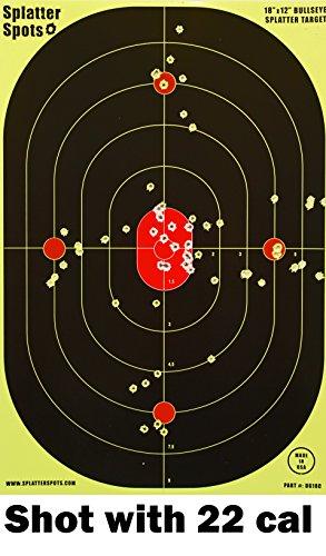 12-X-18-Bullseye-Super-Splatter-Targets-10-25-50-100-Packs-Creates-Huge-Super-Splatter-Spots-See-Your-Hits-Instantly-100