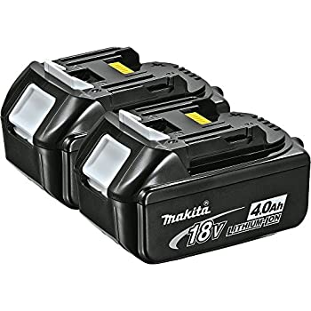 Makita BL1840-2 LXT Lithium Ion 4.0 Ah Battery, 2-Pack- Discontinued by Manufacturer (Discontinued by Manufacturer)