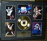 Kiss Calling Dr. Love Framed 24kt Gold Plated LP