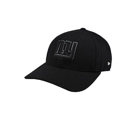 New Era 49forty NFL New York Giants Hat Ek Nealon 4940 Black Men Football  Cap ( 00e3e695a
