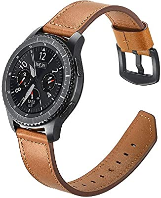 Para Correas Galaxy Watch 46mm Cuero, Myada Correas Gear S3 Correa ...