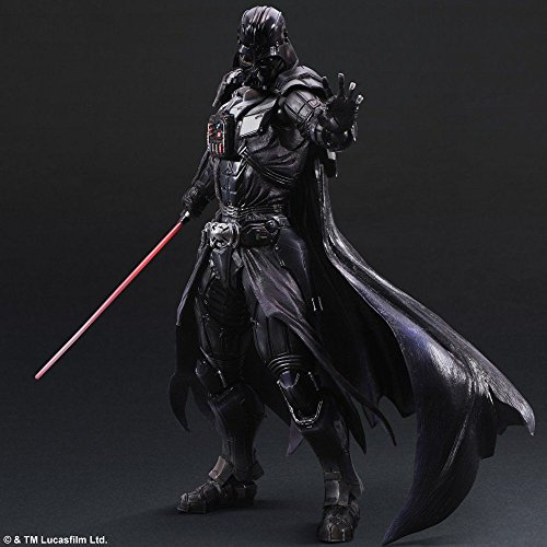 Darth Vader PLAY ARTS KAI Action Figure STAR WARS Variant JAPAN import new 10 inches