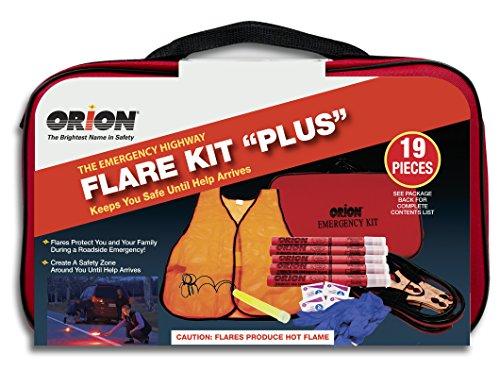Orion Safety Products 8905 Flare Kit Plus Emergency Kit 12 Gauge Aerial Handheld