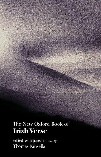 The New Oxford Book of Irish Verse (Oxford Books of - Verses Book
