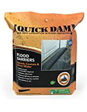 Quick Dam QD610-1 Water Activated Flood Barrier 10 feet, 1-Pack Barriers-10 1 Pack, ft, Black