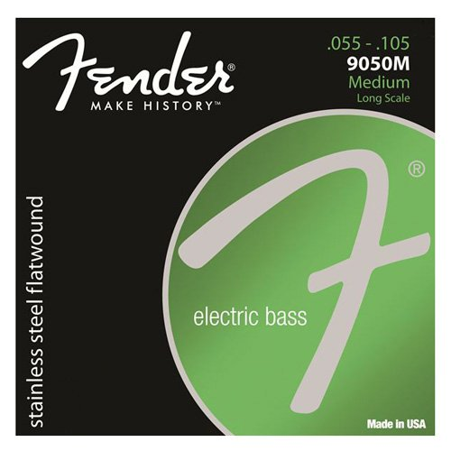 fender bass strings flatwound - 1