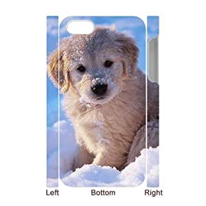 AKERCY Goldren Retriever Phone 3D Case For Iphone 4/4s [Pattern-1]