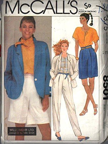 Vintage Mccalls Sewing Pattern 8501 for Misses