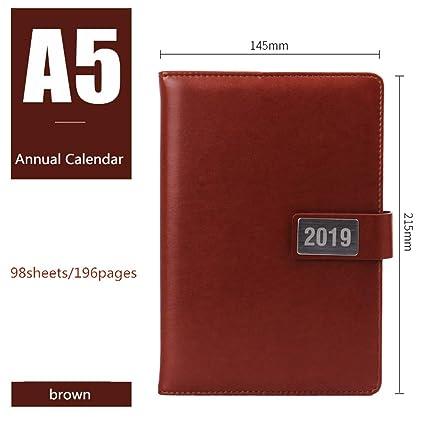LIUCHEN@ Cuaderno2019 Cuaderno Calendario anual Calendario ...