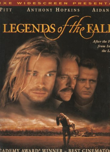 Legends of the Fall Laserdisc