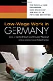 Low-Wage Work in Germany, , 0871540622
