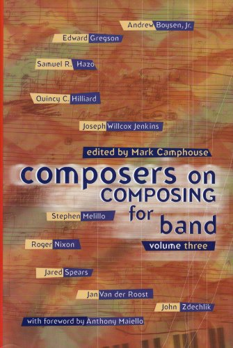Composers on Composing for Band, Vol 3/G7053