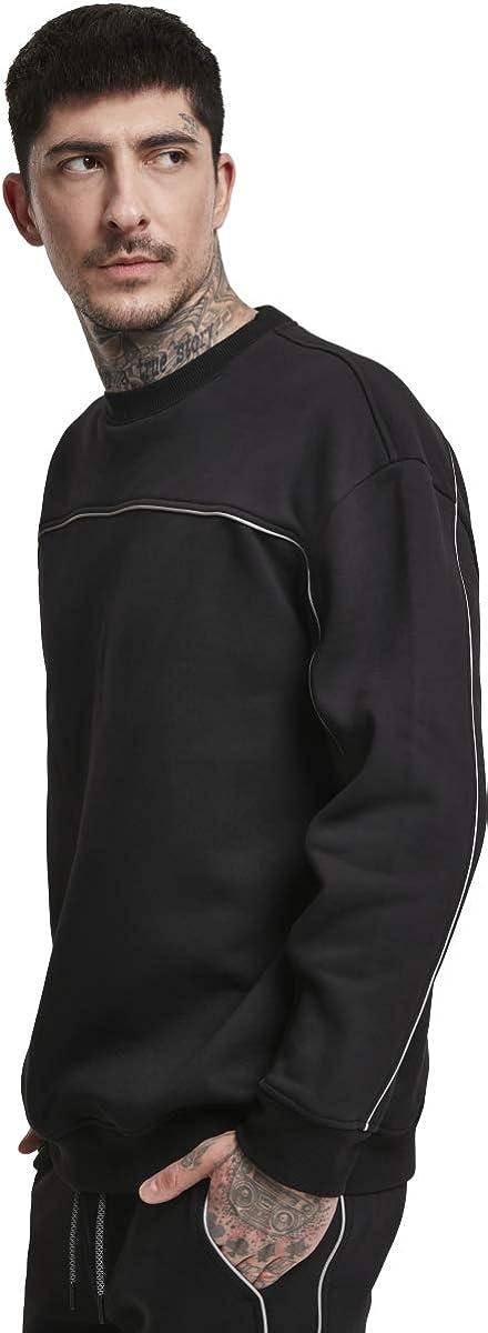 Urban Classics Men Sweatshirt Reflective