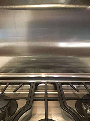 """Alloy 304 Stainless Steel Backsplash 304#4 (Hemmed Edge) (30"""" x 30"""")"""