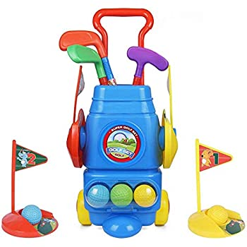 Amazon.com: EXERCISE N PLAY Deluxe Happy Kids/Toddler Golf ...