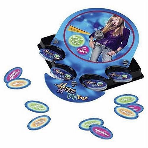 Hasbro Hannah Montana Girl Talk Spiel - Englisch