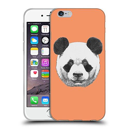 """GoGoMobile Coque de Protection TPU Silicone Case pour // Q05300607 Panda Tangerine atomique // Apple iPhone 6 4.7"""""""
